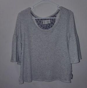 EUC Anthropologie Grey Sweater